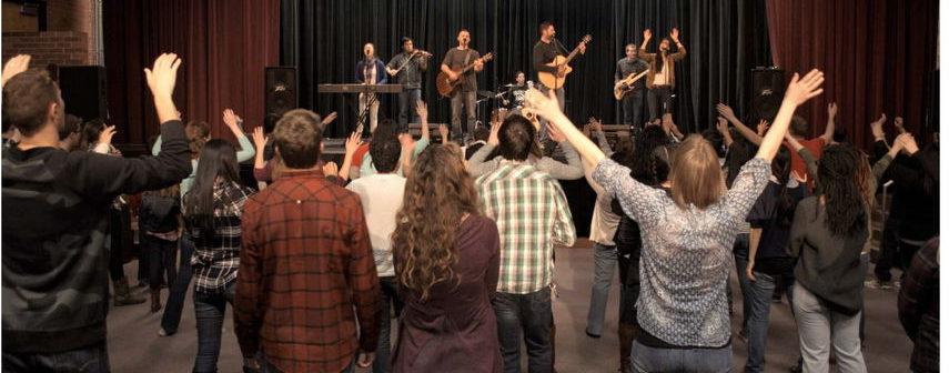 Worship at Resurrection Church Boulder